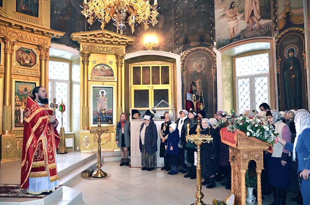 День святой великомученицы Варвары в Вознесенском храме города Коломны